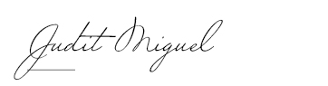 Signature Judit Miguel